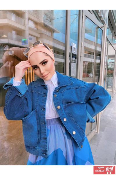 ژاکت نخی برند lurex moda رنگ آبی کد ty100092838