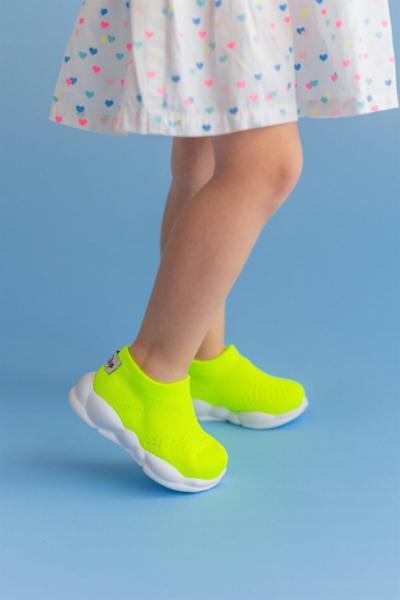 فروشگاه کفش اسپرت بچه گانه دخترانه اینترنتی برند First Step رنگ سبز کد ty100272000