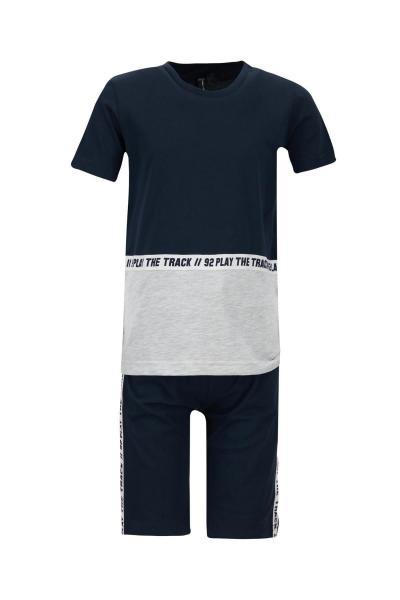 ست لباس شیک بچه گانه برند دفاکتو ترکیه رنگ لاجوردی کد ty100304138