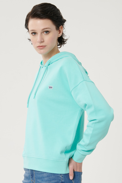 فروش اینترنتی سویشرت زنانه با قیمت برند Lee رنگ فیروزه ای ty101160036