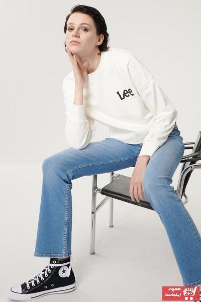 خرید سویشرت نخی برند Lee کد ty101160843