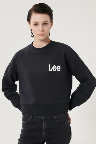 فروشگاه سویشرت زنانه برند Lee رنگ مشکی کد ty101162823