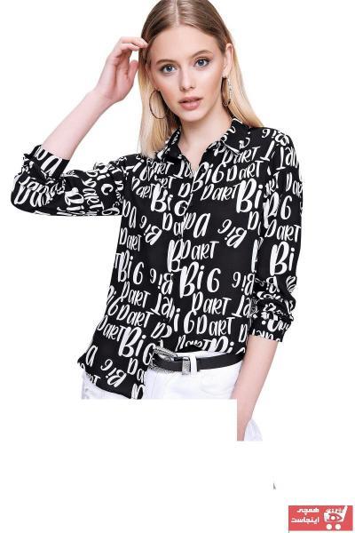 فروشگاه شومیز زنانه تابستانی برند butikburuç رنگ مشکی کد ty102739360