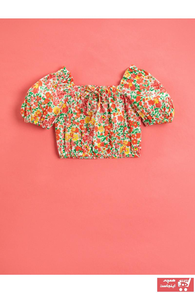 بلوز دخترانه تابستانی برند کوتون رنگ صورتی ty102846985