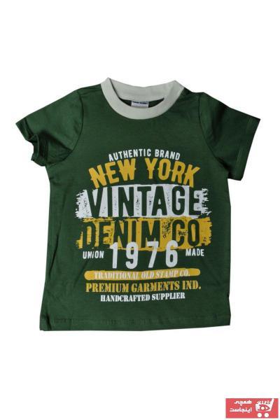 تیشرت نوزاد پسرانه ست برند Fuar Baby رنگ سبز کد ty103643117