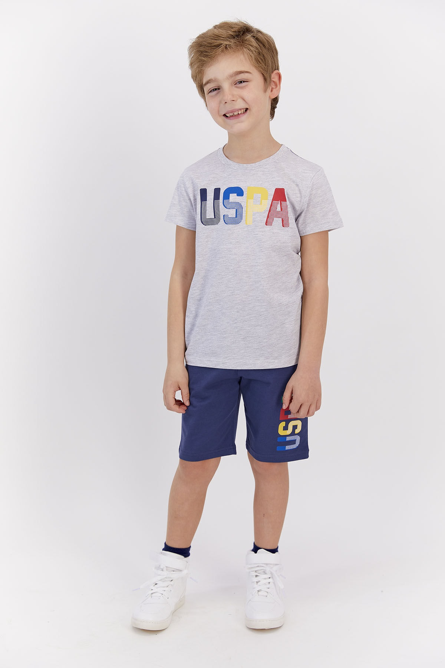 شلوارک بچه گانه سال ۹۹ مارک U.S. Polo Assn.برند US Polo رنگ قهوه ای کد ty103648791