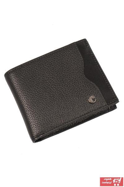 سفارش نقدی کیف پول ارزان برند Cacharel رنگ مشکی کد ty103975458