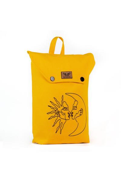 کوله پشتی اورلیال برند Salvia & Co. رنگ زرد ty104176452