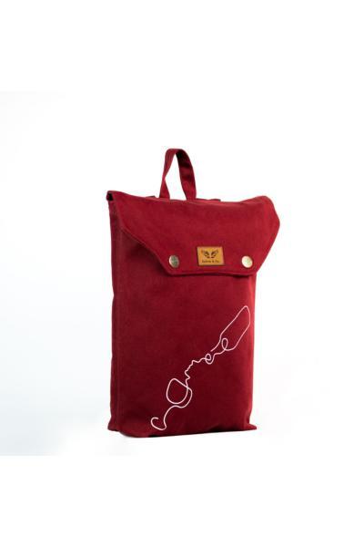 فروشگاه کوله پشتی مردانه سال 1400 برند Salvia & Co. رنگ زرشکی ty104197549