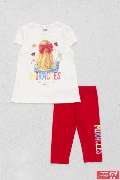 ست لباس دخترانه حراجی برند DMB BOYS & GIRLS رنگ قرمز ty104347949