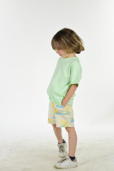 ست لباس بچه گانه اسپرت جدید برند LUESS رنگ سبز کد ty104862928