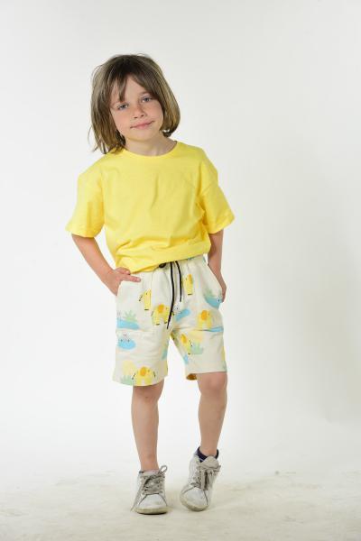 ست لباس جدید بچه گانه شیک برند LUESS رنگ زرد ty104874841
