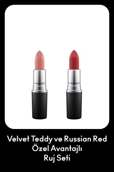 رژ لب از ترکیه برند M.A.C رنگ قرمز ty104957793
