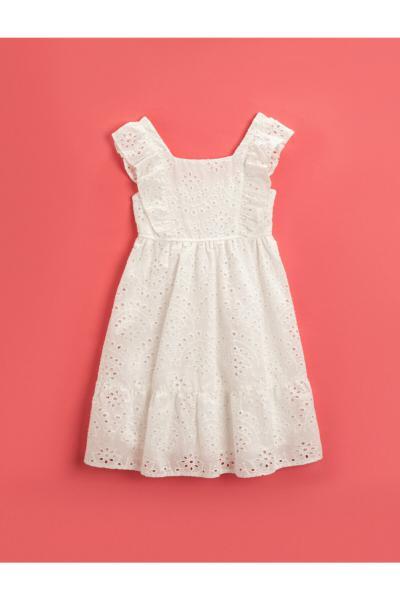 ژورنال پیراهن دخترانه برند کوتون کد ty106524343