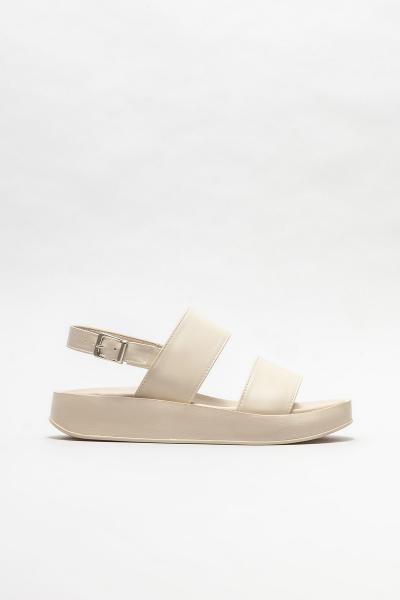 سفارش صندل زمستانی زنانه برند Elle Shoes رنگ بژ کد ty106547124