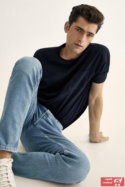 تیشرت مردانه خاص برند ماسیمو دوتی رنگ لاجوردی کد ty107214509