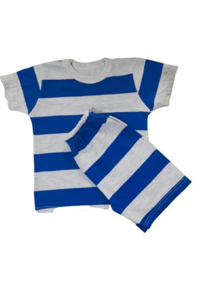 ست لباس پسرانه تابستانی برند Hayal kids رنگ آبی کد ty107226125