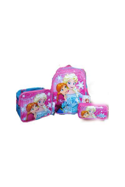 سفارش  کیف مدرسه بچه گانه دخترانه برند Frozen رنگ آبی کد ty107353749