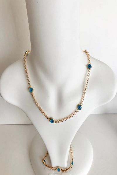 خرید اینترنتی گردنبند بلند برند Aysa Accessory رنگ طلایی ty107643603