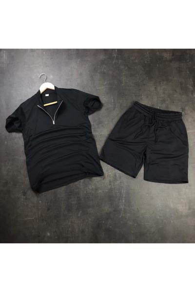 خرید انلاین ست اسلش و گرمکن جدید مردانه شیک برند Noxx Fashion رنگ مشکی کد ty108464866