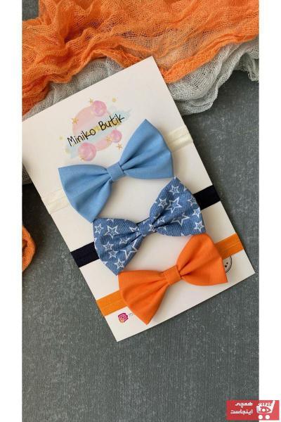 خرید اسان پاپیون بچه گانه پسرانه  جدید برند Miniko Butik رنگ آبی کد ty108589595