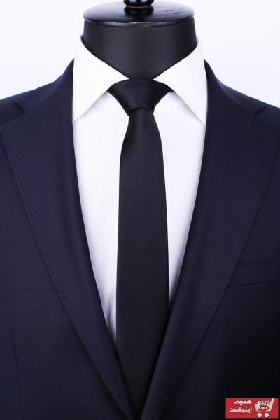 کراوات مردانه مدل دار برند La Pescara رنگ مشکی کد ty2316867