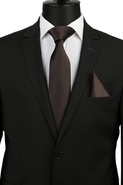 خرید کراوات مردانه اصل برند La Pescara رنگ قهوه ای کد ty2320248