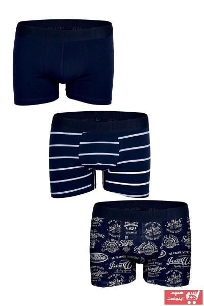 خرید نقدی شورت مردانه فروشگاه اینترنتی برند John Frank رنگ مشکی کد ty2434370