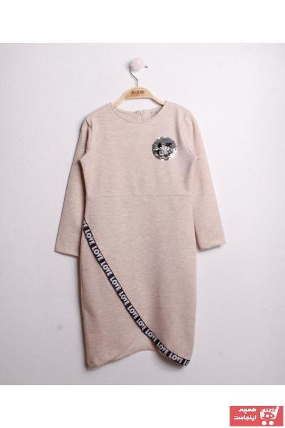 تونیک دخترانه ساده برند Toontoy رنگ قهوه ای کد ty31325164