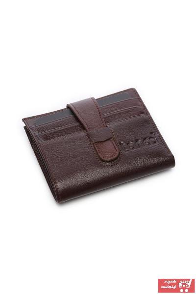 کیف کارت بانکی اورجینال مردانه برند کمال تانجا رنگ قهوه ای کد ty33057093
