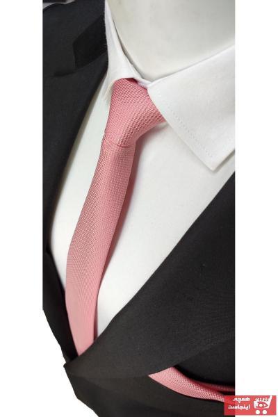کراوات مردانه ترک برند Elegante Cravatte رنگ صورتی ty34242229