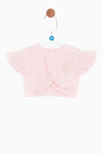 فروشگاه بلوز دخترانه سال 1400 برند BG Baby رنگ صورتی ty36802554