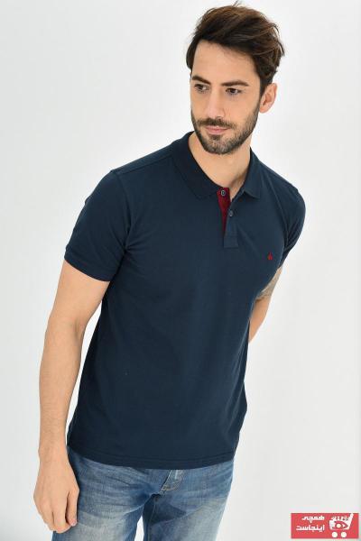 فروش پستی پولوشرت مردانه شیک جدید برند DYNAMO رنگ لاجوردی کد ty37713823