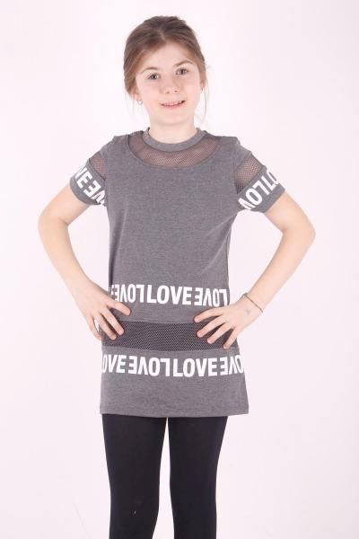 تونیک دخترانه تابستانی برند Toontoy رنگ نقره ای کد ty39096944