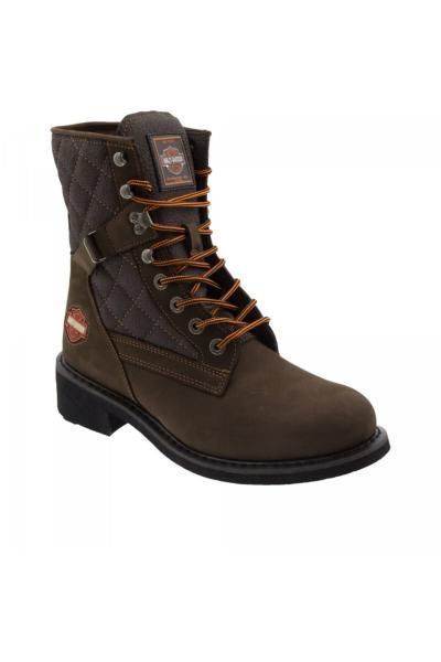 فروش نیم بوت مردانه جدید برند Harley Davidson رنگ قهوه ای کد ty3984012