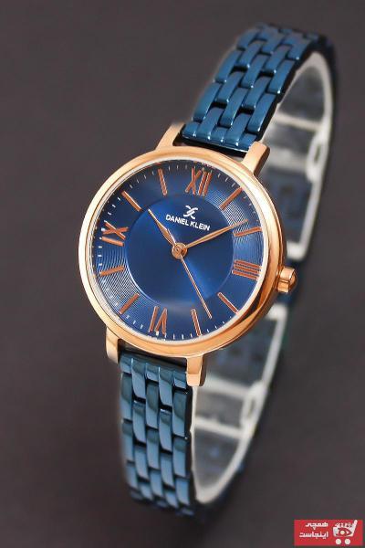 فروش پستی ساعت زنانه برند Daniel Klein رنگ لاجوردی کد ty40397750