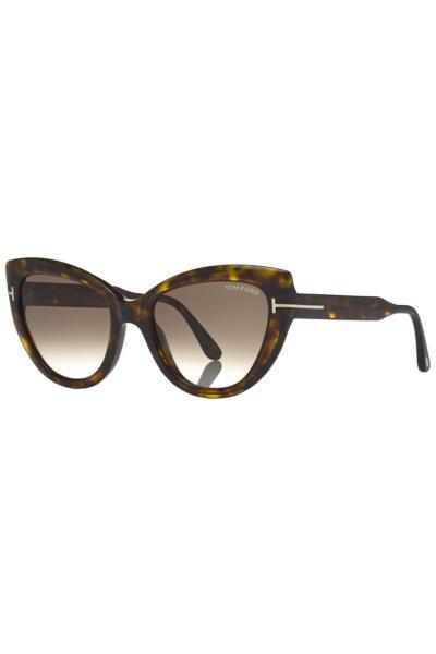 عینک آفتابی زنانه خفن برند Tom Ford رنگ قهوه ای کد ty40559243