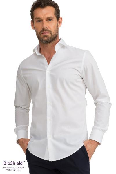 پیراهن کلاسیک ارزان برند GIZA HOUSE کد ty40755774