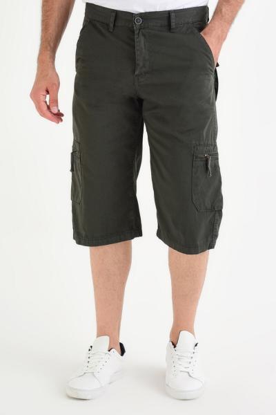 فروش شلوارک مردانه جدید برند DYNAMO رنگ خاکی کد ty41875647