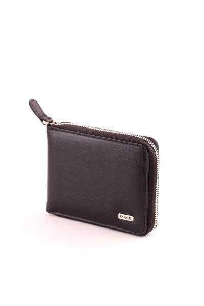 فروش کیف پول مردانه حراجی برند karpix رنگ مشکی کد ty42337113