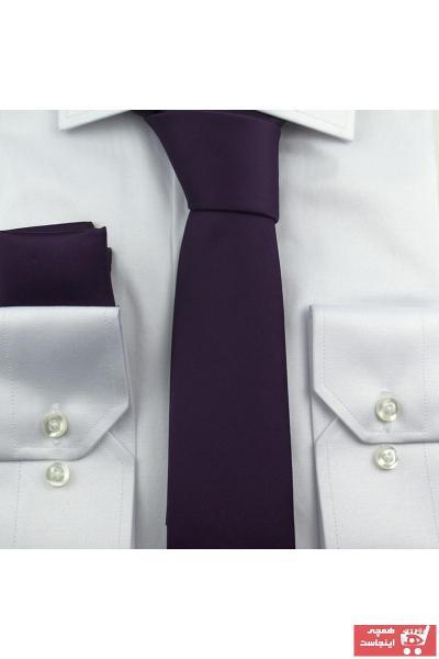 کراوات مردانه ارزان برند Gaffy رنگ بنفش کد ty42397140