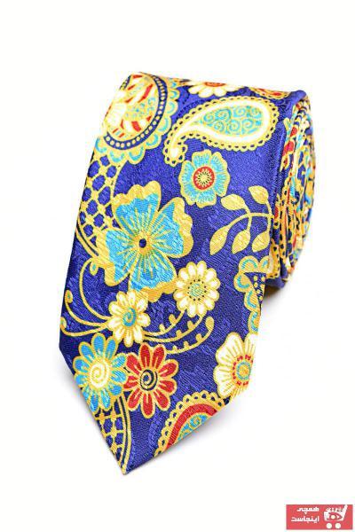 کراوات مردانه فروشگاه اینترنتی برند YENİ KRAVAT رنگ آبی کد ty42406242