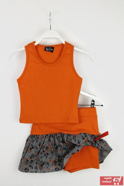 خرید پستی ست لباس زیبا برند Cloise رنگ نارنجی کد ty42482361
