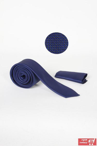 کراوات مردانه جدید برند Zermon رنگ آبی کد ty42690942
