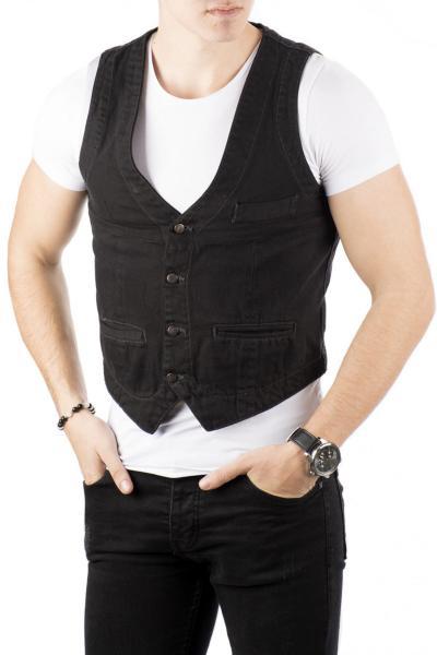 جلیقه پاییزی مردانه برند دیپسی رنگ لاجوردی کد ty4281582
