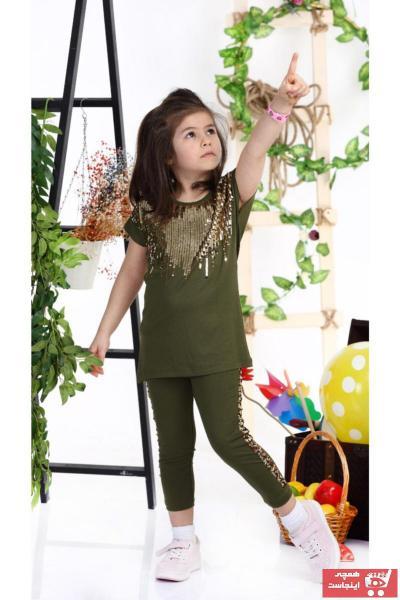 خرید نقدی ست لباس ست لباسک دخترانه برند CICIKIZ رنگ سبز کد ty43227155