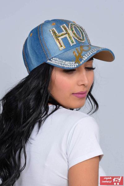 کلاه اصل زنانه برند We Cool رنگ آبی کد ty4323251
