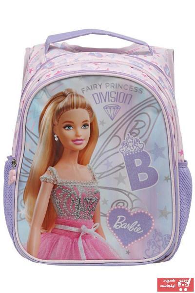 کیف مدرسه بچه گانه دخترانه ترک جدید برند Barbie رنگ نارنجی کد ty44483825