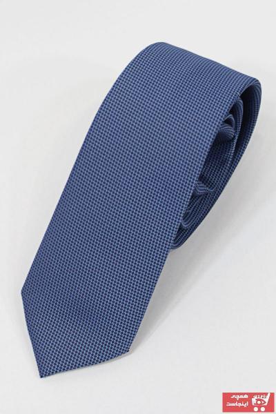 کراوات مردانه تابستانی برند TANİŞ GİYİM رنگ آبی کد ty44613254