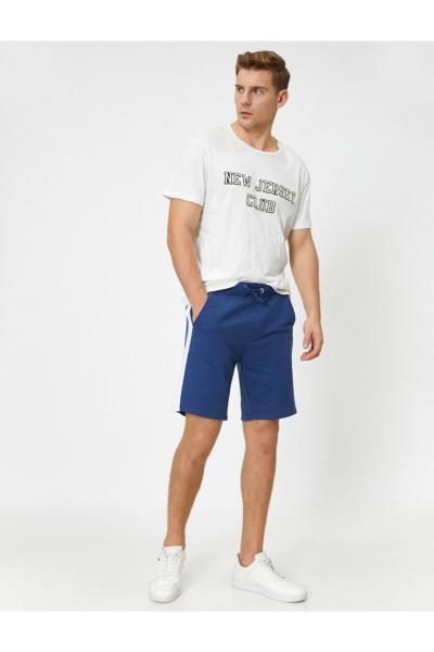 خرید شلوارک مردانه اصل برند کوتون رنگ آبی کد ty45024936